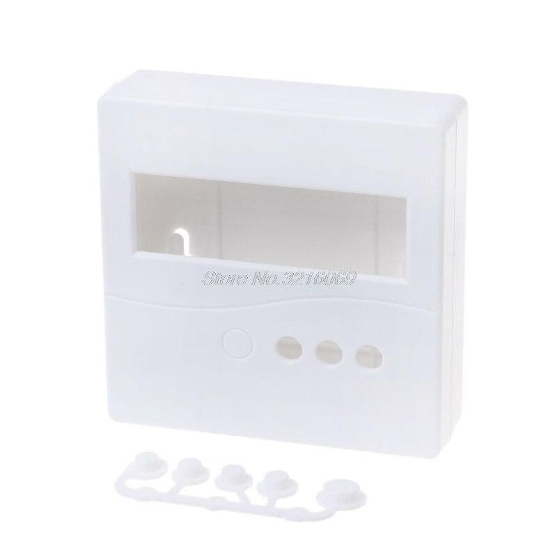Caso Caixa Do Projeto Caixa de plástico para DIY LCD1602 86 Medidor Tester Com O Botão