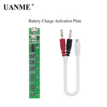 цена на UANME Cellphone Battery Charge Activation Board Plate with DC Power Cable For iPhone 4S 5 5C 5S 6 6S Plus 7G 7plus / Samsung