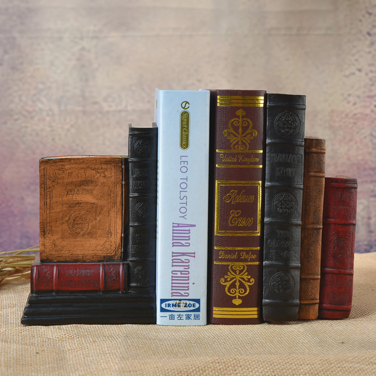 Aliexpress Com Buy Home Utility Gift Birthday Gift: Vintage Fake Book Dictionary Bookends Home Furnishing