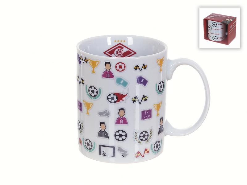 Tasse Polystar Collection, FC Spartak moscou, 330 ml, emballage cadeau