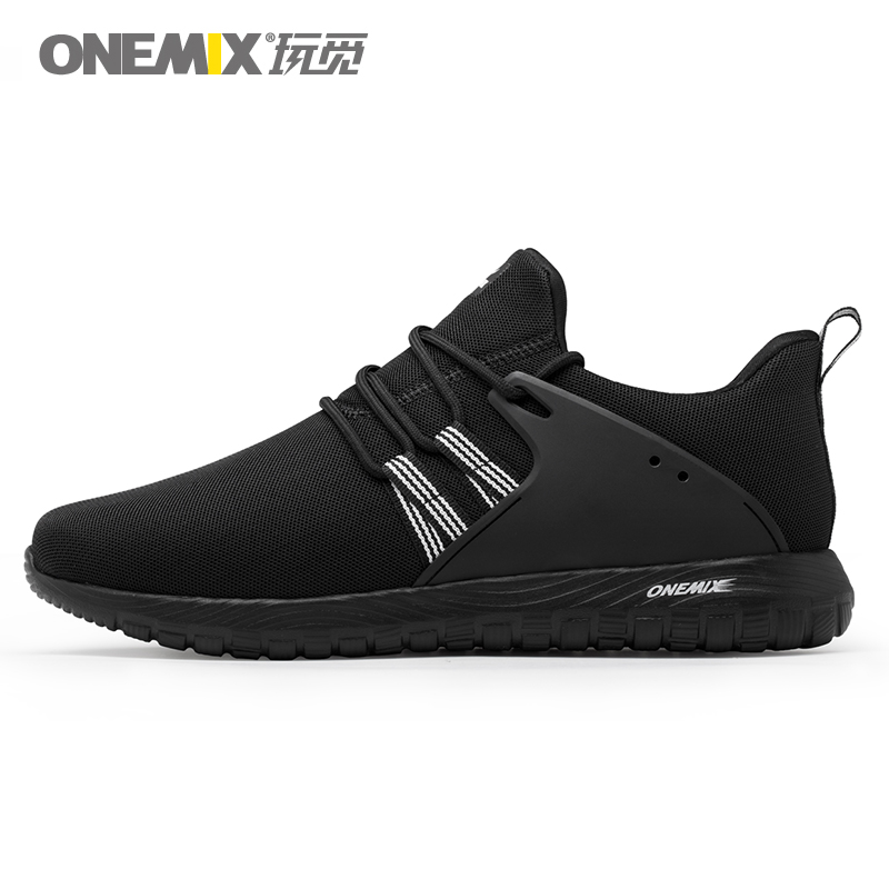 ONEMIX Men Running Shoes Lightweight Women Sneakers Cushioning Foam Breathable Trainers One piece Design Fashion Outdoor