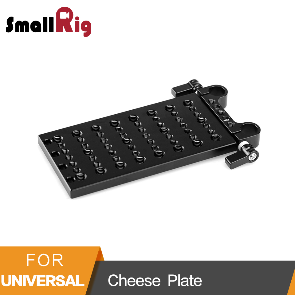 SmallRig Cheese Plate Multi purpose Mounting Plate For DSLR Support System Articulating Arms Batteries Converter Boxes