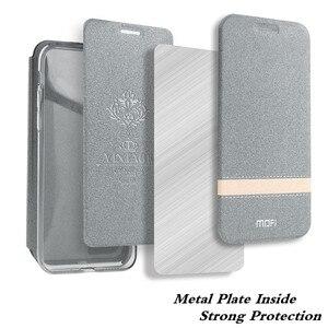Image 4 - MOFi funda abatible para Huawei Mate 20 Pro, carcasa de cuero PU, Capa de libro de silicona