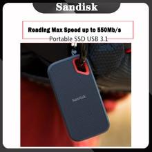 SanDisk disque dur externe SSD Portable, USB Type C, 250 go, 500 go, 500 mo/s, 1 to, pour ordinateur Portable, ordinateur de bureau