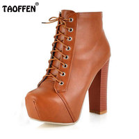 Free Shipping Ankle Boots High Heel Shoes Short Winter Fashion Sexy Warm Fur Buckle Women Boot
