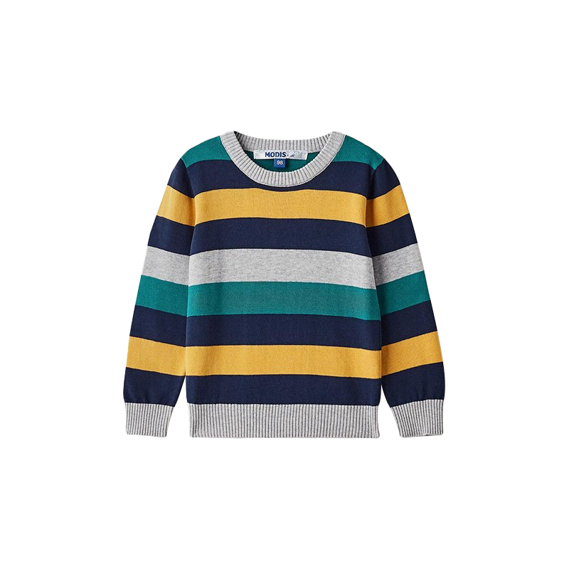 Sweaters MODIS M182K00216 jumper sweater pullover for boys kids clothes children clothes TmallFS sweaters modis m181w00463 woman sweater jumper turtleneck pullover for female tmallfs