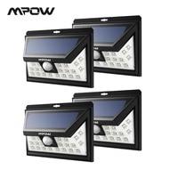 Mpow CD013 Wide Angle 24 LED Solar Lights Motion Sensor Light For Patio Garden Yard Wall Lighting Energy saving Outroor Lamps