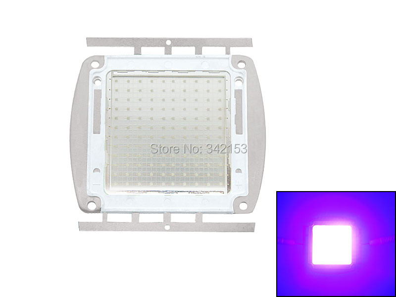 High Power 120W UV Ultra Violet Purple Led Lighting 395-450nm DC30-36V 3600mA Led Bulb Lamp Light For Money Detector 10w 12w ultra violet uv 365nm 380nm 395nm high power led emitting diode on 20mm cooper star pcb