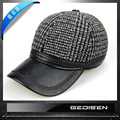 Men's Winter Warm Casual Baseball Cap Adult Men's Fashion Cotton Ear Cap Plaid Claus Hats Adult Baseball Cap B-4553