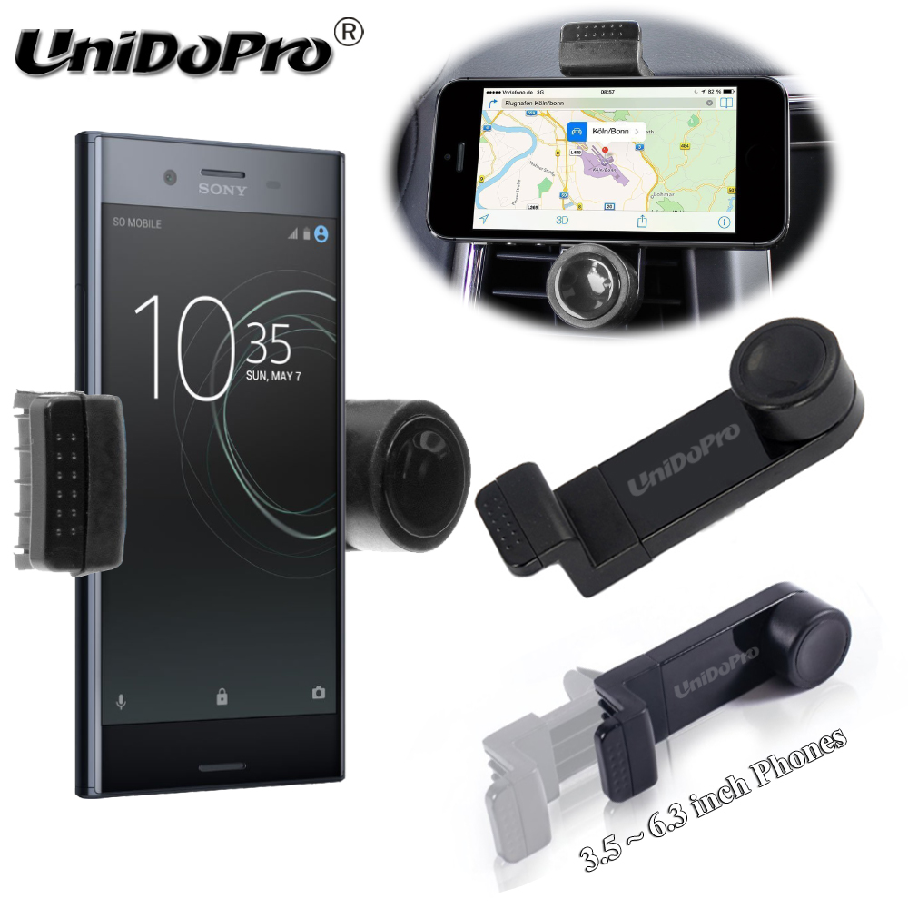 Portable Car Air Vent Phone Holder For Sony Xperia 5 10 L1 L2 L3 XZ4 XZ3 XZ2 XZ1 XZs XZ Premium XA1 R1 Plus XA2 Ultra X Compact