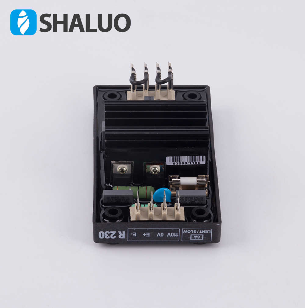 Automatic Voltage Regulators Stabilizers 220V 380V AC Single phase Three  phase Diesel Brushless Generator Alternator AVR R230