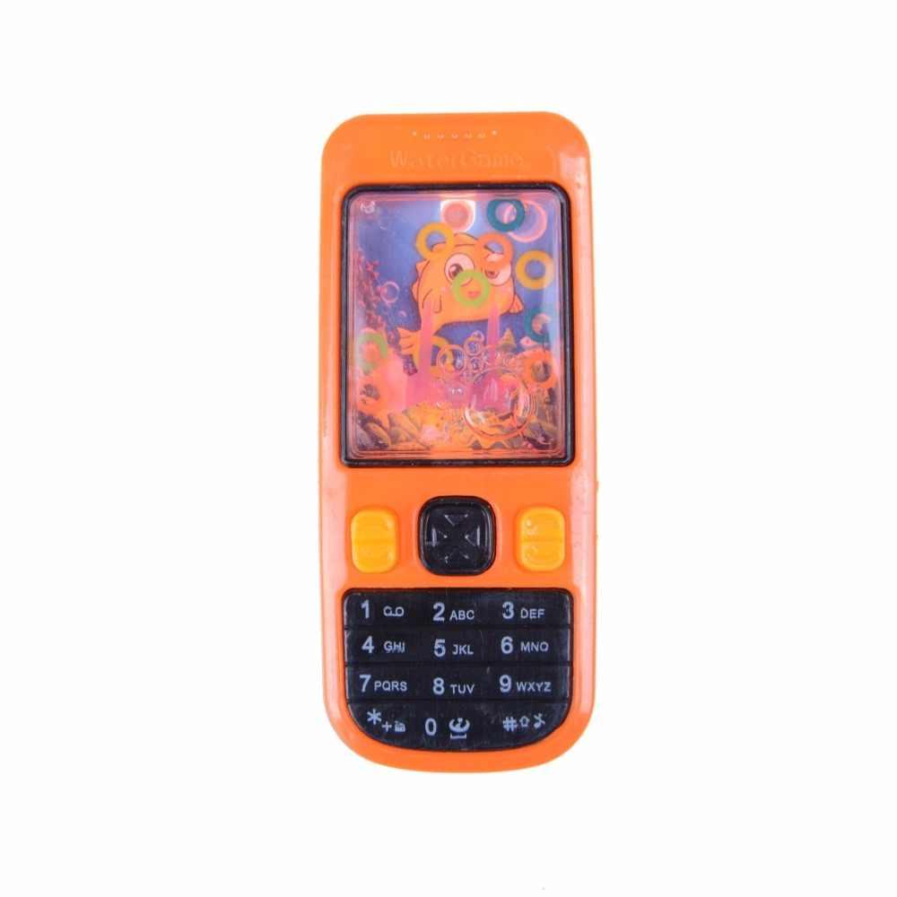 الجدة مشمس شكل الهاتف المحمول المياه الدائري لعبة لعبة الطويق المياه لعبة أطفال الأطفال الكلاسيكية الفكرية اللعب 10.7x4.5x1.5 سنتيمتر