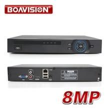 H.265 CCTV NVR 32CH 1080 P/25Ch 5MP/8Ch 8MP NVR ONVIF P2P Cloud Support 2HDD MAX 8 to 32Ch sécurité NVR enregistreur vidéo réseau