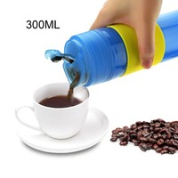 Portable French Pressed Coffee Bottle Coffee Tea Maker Coffee Filter Bottle Hand Pressure Coffee Machine For