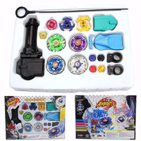 New Spinning Top Beyblade Alloy Gyro Toy Gyro Launch Game Battle Gyro Metal Fusion Children Gifts