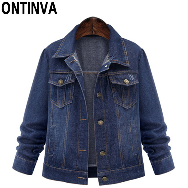 Compare Prices on Womens Dark Denim Jackets- Online Shopping/Buy ...
