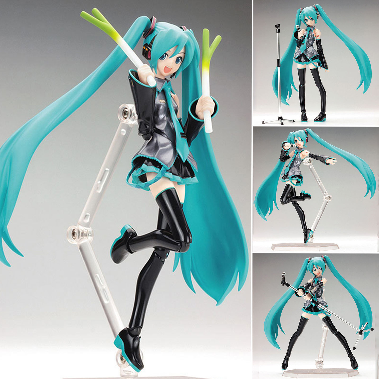 Hatsune Miku 1/8 Scale Action Figure Collection Multicolor Joint Moveable Toy 8