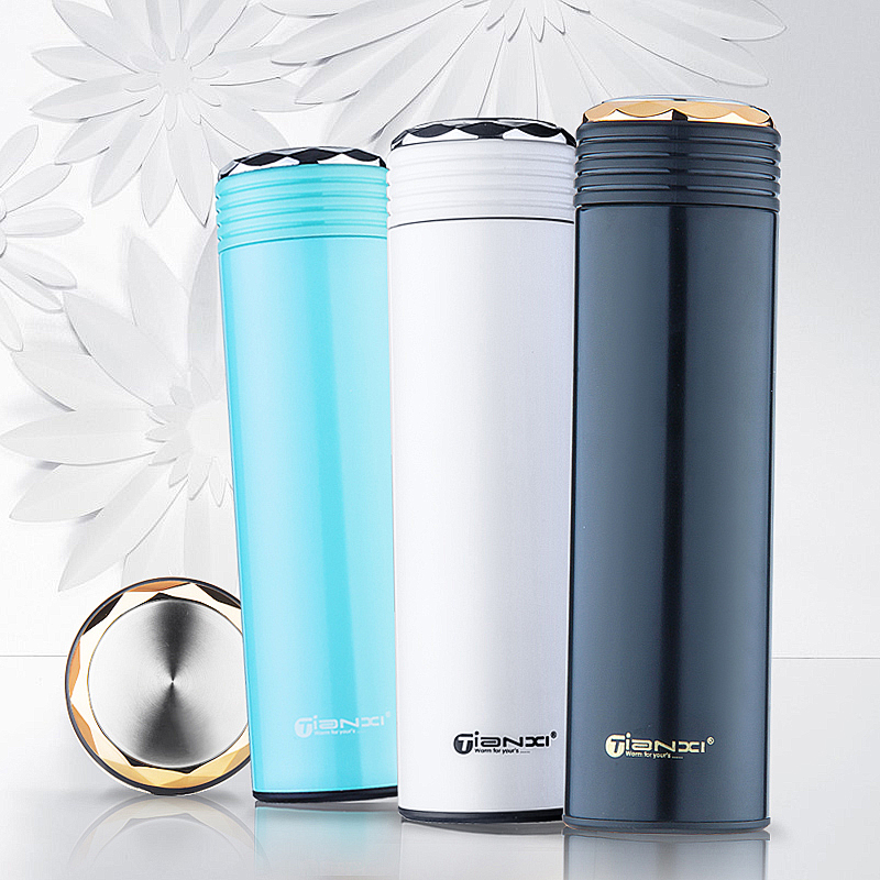450ml Queen s Cup Water Bottle Thermos Vacuum Stainless Steel bottle for office