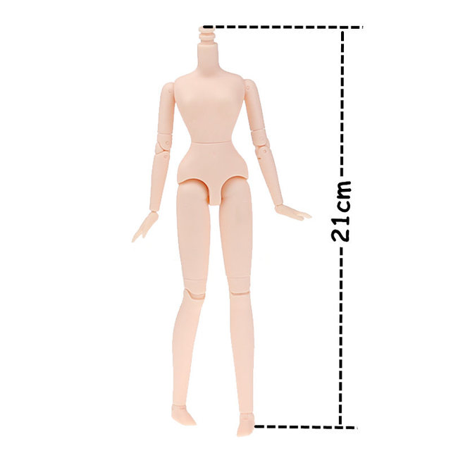 Only for Xiaojing Doll joint body 21cm natural skin long legs toy gift Fortune Day Free Shipping