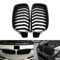Car Front Center Grille Grills For BMW F30 F31 3 Series 2012 2013 2014 2015 2016 Glossy ABS Plastic Auto Decoration Accessories