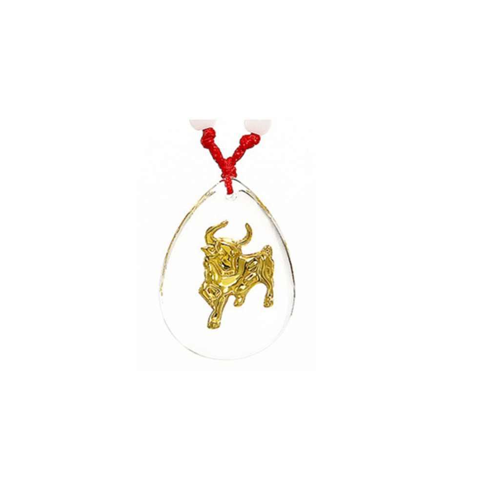 12 trung quốc Zodiacs Astrological Động Vật sáng Cổ Áo Vòng Cổ Rat/Con Bò/Tiger/Thỏ/Rồng/Rắn/Ngựa /dê/Khỉ/Chó/Con Đồ Trang Sức #281374