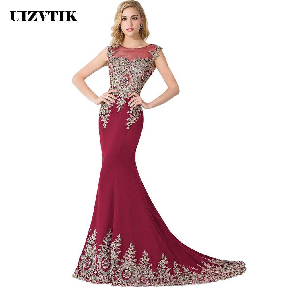 d33827e487d47 UIZVTIK Summer Dress For Women 2019 Elegant Formal Ball Gown Long ...