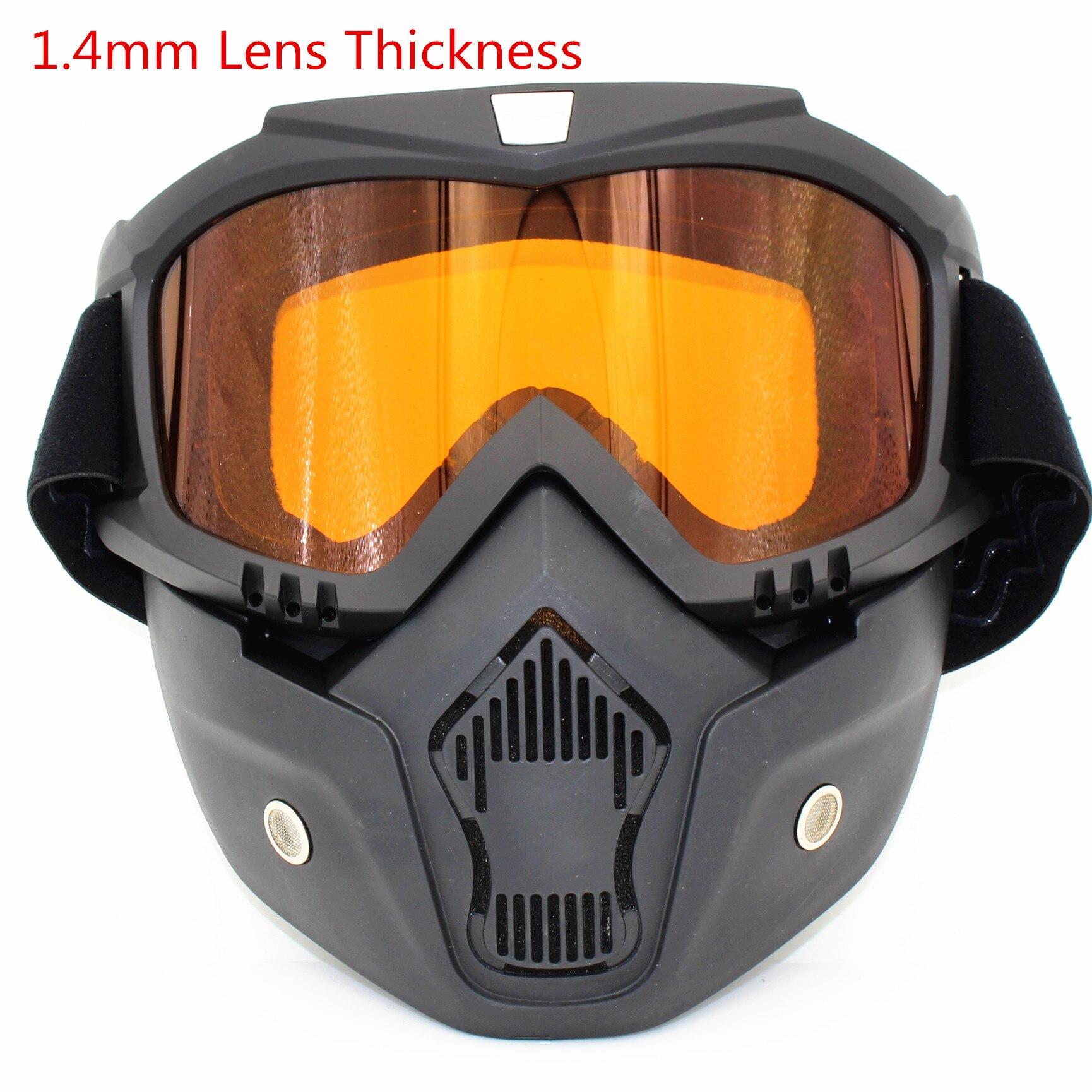 Prix pour 2017 Nouveau Vélo Masque Sports D'hiver Ski Snowboard Lunettes Wind Stopper Visage Masque Vélo Moto Lunettes Vélo Lunettes