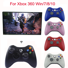 2.4G Wireless Remote Controller For Xbox 360 Computer With PC Receiver With USB Gamepad For Microsoft Xbox360 Joystick Controle