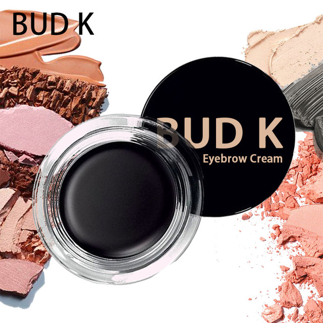 9 Colors Eyebrow Enhancers Maquiagem Makeup Waterproof Eye Brow Filler Beverly Hills Pomade Eyebrow Gel CARAMEL BUD K Brand 1