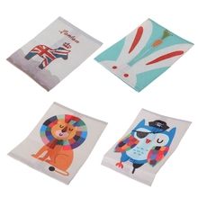 Baby Eco Friendly Tissue Box Hang Linen Blend Cotton Domestic Napkin Bag  Paper Storage Home Decor Convenient Practical Box