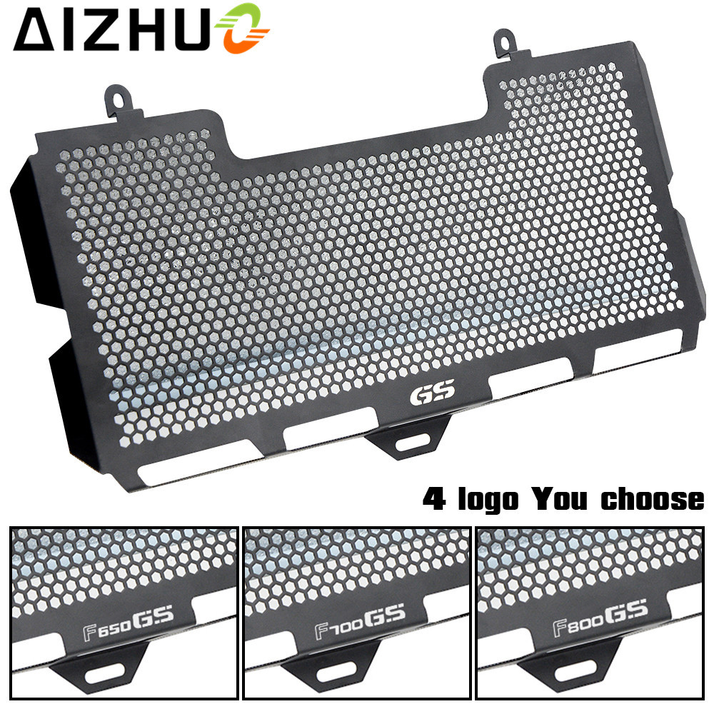For BMW F650GS F700GS F800GS 2008 2009 2010 2011 2012 Motorcycle Radiator Grille Guard Cover Stainless Steel Radiator Protection motorcycle radiator grill guard cover protector radiator protection for bmw f650gs 2008 2012 f700gs 2011 2015 f800r 2012 2014