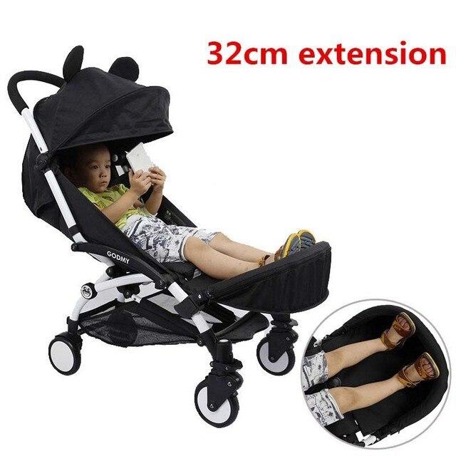 baby stroller extended footrest armrest set stroller accessories for baby carriage stroller organizer kids rest foot
