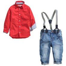 03afeafbca7 Мальчиков Красные Джинсы – Купить Мальчиков Красные Джинсы недорого из Китая  на AliExpress
