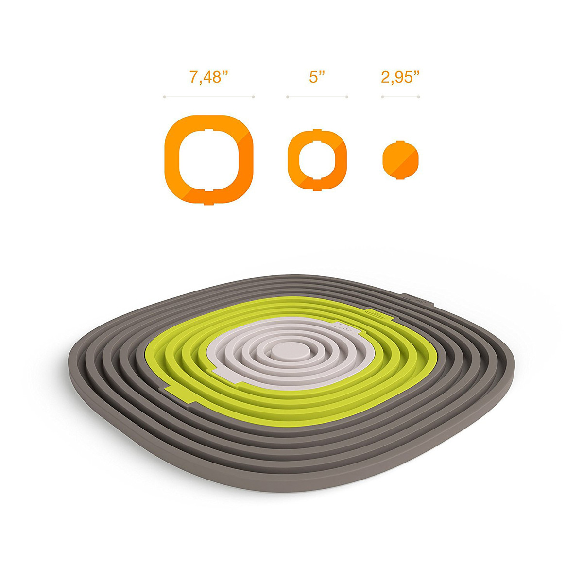 Mats & Pads 3pcs/set Silicone Heat-resistant Pot Mat Cup Drink Coasters Dish Insulation Pad Table Dining Placemats Kitchen Accessories Table Decoration & Accessories
