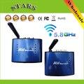 5.8G Wireless AV Sender TV Audio Video Transmitter Receiver IR Remoter Extender Original adapter PAT530,Wholesale Free Shipping