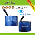 5.8G Wireless AV TV Audio Video Remitente Transmisor Receptor IR Más Alejado Extender PAT530 adaptador Original, Al Por Mayor Envío Gratuito