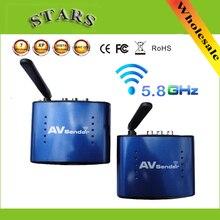 PAT 535 5,8G Wireless AV Sender TV Audio Video Sender Empfänger IR Entfernteren Extender adapter PAT530, großhandel Freies Verschiffen