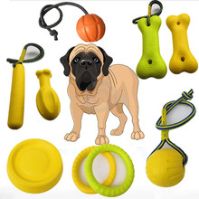Fashion EVA Pet Chewing Toy Pull Ring Ball Bone Chicken Legs Toy for Cat and Dog Chewing Training Pet Supplies Accessories все цены