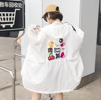 Güneş giyim kadınlar 2017 yaz yeni Kore versiyonu büyük kod gevşek orijinal konaklama BF kaput ince kat