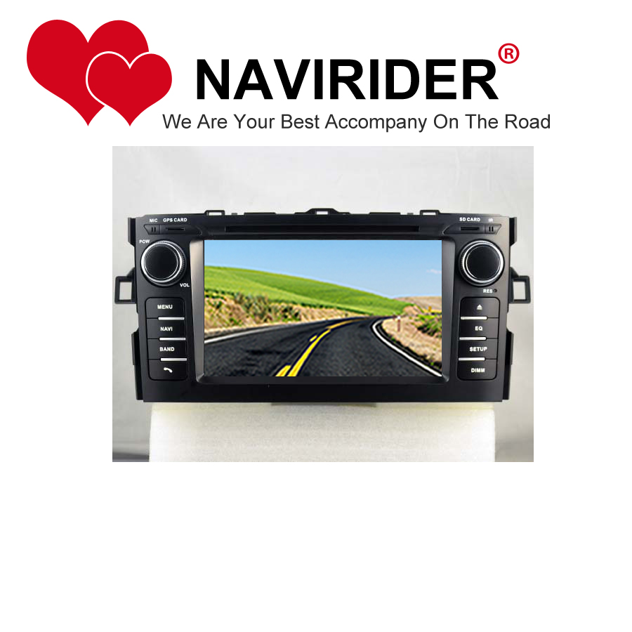 car dvd Fit for TOYOTA AURIS stereo navigation HU tape recorder multimedia radio audio GPS mirror link android 8.1.0 head unit