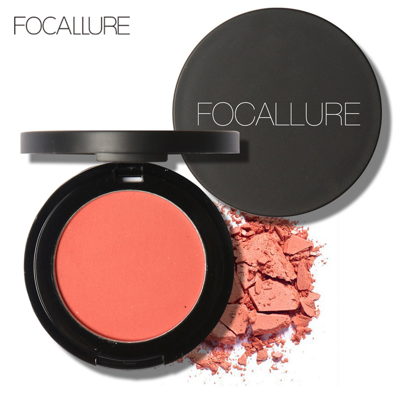Focallure Cheek Blush High Quality Face Blusher Bronzer Makeup Mineral Powder Blushers palette Cosmetics