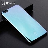 BASEUS Phone Case For IPhone 6 6s 7 7Plus 6Plus Luxury Mirror Glare Gradient Color Hard