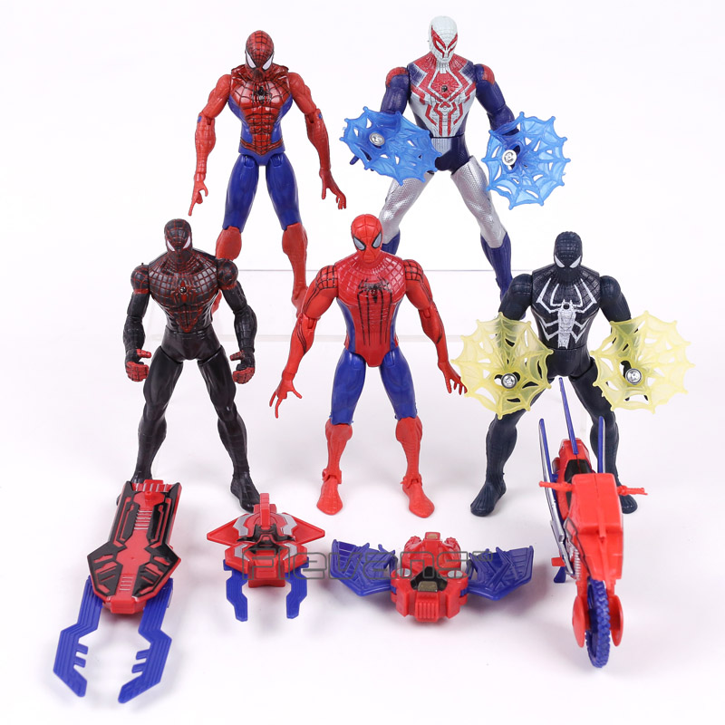 Spider-Man Homecoming Spiderman Iron Man PVC Action Figures Collectible Model Toys