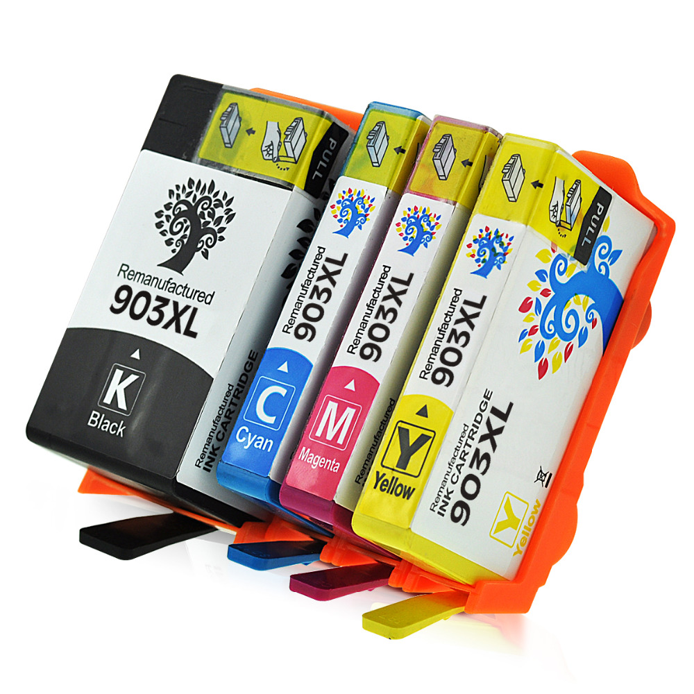 4Pack Remanufactured For HP 903XL Ink Cartridges High Capacity For HP Officejet Pro 6960 6962 6968 6970 6974 6975 6978 6979 2016 new [simon hisaint ink ]applicable hp hp818 cartridges d1668 d2568 f4288 2668 hp818xl excess capacity of 2668 classic
