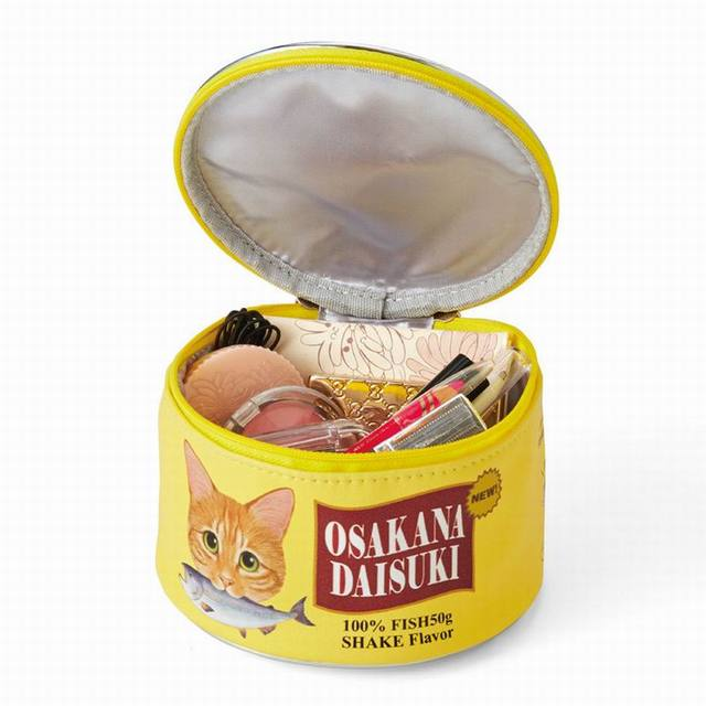 Cat Food Can Cosmetic Pouch