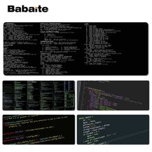 Babaite Custom Skin Code Keyboard Gaming MousePads Size for 30x90cm 40x90cm Speed Mouse Pad