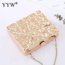 Box Bags For Women Clutch purse Wedding Party Evening Clutches women's shoulder bag Elegant Female Chain Sling Crossbody Bags beautiful flamingo crystal wedding clutch bags crystal clutches purse women evening bags ladies handbag