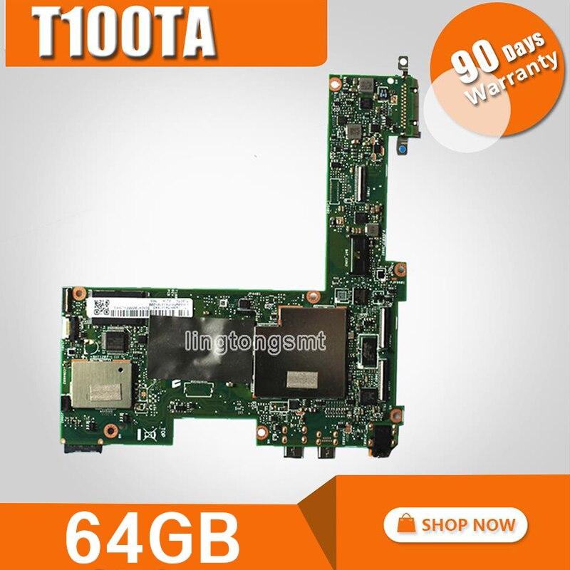 T100TA Laptop motherboard for ASUS T100T T100TA T100TA Test original mainboard 64G