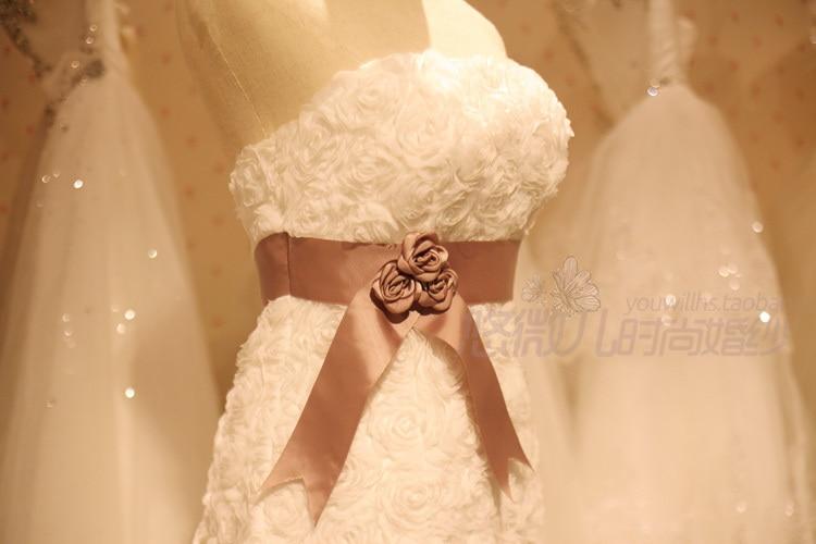 Spring Summer Bride Wedding Dress With Court Train Robe De Mariage ... 981da752767d