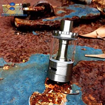 Original THC Tauren RTA Tank with Vape Top Filling 5ml Capacity 304ss Rebuildable Suitable for E Cigarette Box Mod vs Zeus X RTA 25mm zeus x rta 3 5ml 4 5ml tank rba gta electronic cigarette mods vape tank rta 22mm 24mm vaper atomizer for vape mod